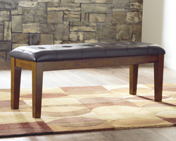 Ralene - D594-00 - Large UPH Dining Room Bench - Medium Brown