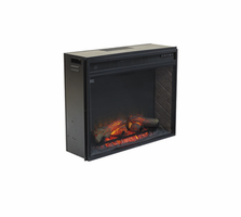 Entertainment Accessories - W100-21 - LG Fireplace Insert Infrared - Black