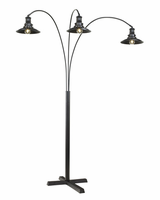 Sheriel - L725059 - Metal Arc Lamp (1/CN) - Black
