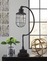 Jae - L734232 - Metal Desk Lamp (1/CN) - Antique Black