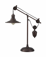 Kylen - L734152 - Metal Desk Lamp (1/CN) - Bronze Finish
