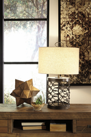 Aryan - L207094 - Metal Table Lamp (1/CN) - Black