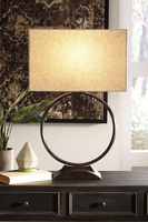 Fayth - L207074 - Metal Table Lamp (1/CN) - Bronze Finish