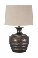 Kymani - L207004 - Metal Table Lamp (1/CN) - Antique Brass Finish