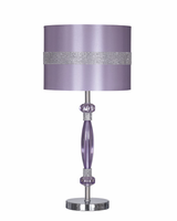 Nyssa - L801524 - Metal Table Lamp (1/CN) - Purple