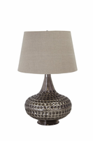 Sarely - L207844 - Metal Table Lamp (1/CN) - Pewter Finish