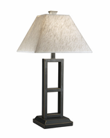Deidra - L318924 - Metal Table Lamp (2/CN) - Black