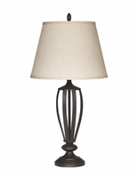 Mildred - L201944 - Metal Table Lamp (2/CN) - Bronze Finish