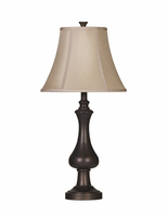 Nidra - L206914 - Metal Table Lamp (2/CN) - Brown