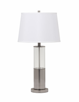 Norma - L431354 - Metal Table Lamp (2/CN) - Silver Finish
