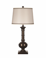 Oakleigh - L207944 - Metal Table Lamp (2/CN) - Bronze Finish