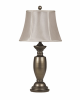 Ruth - L200934 - Metal Table Lamp (2/CN) - Antique Gold Finish