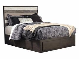 ASHLEY MICCO FULL BED WITH STORAGE
