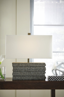 Jamaal - L235544 - Poly Table Lamp (1/CN) - Gray