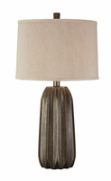 Khalil - L235014 - Poly Table Lamp (1/CN) - Gray