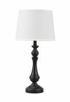Kian - L857564 - Poly Table Lamp (1/CN) - Black/White
