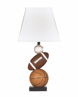 Nyx - L815714 - Poly Table Lamp (1/CN) - Brown/Orange