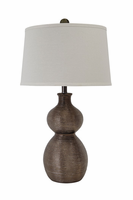 Savana - L235394 - Poly Table Lamp (1/CN) - Gunmetal Finish