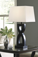 Amasai - L243144 - Poly Table Lamp (2/CN) - Black