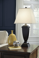 Amerigin - L243154 - Poly Table Lamp (2/CN) - Bronze Finish