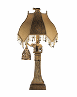 Dillian - L324934 - Poly Table Lamp (2/CN) - Bronze Finish