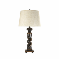Fallon - L235334 - Poly Table Lamp (2/CN) - Black