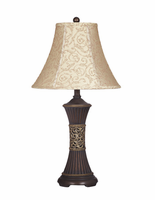 Mariana - L372944 - Poly Table Lamp (2/CN) - Bronze Finish