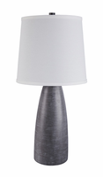 Shavontae - L243004 - Poly Table Lamp (2/CN) - Gray