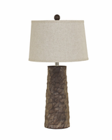 Sinda - L328984 - Poly Table Lamp (2/CN) - Gray