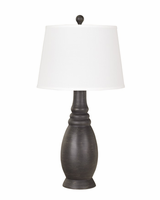 Sydna - L276334 - Poly Table Lamp (2/CN) - Antique Black