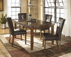 Lacey - D328-25 - Rectangular Dining Room Table - Medium Brown