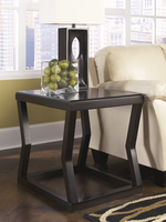 Kelton - T592-3 - Rectangular End Table - Espresso