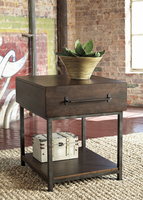 Starmore - T913-3 - Rectangular End Table - Brown