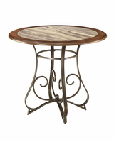 Hopstand - D314-13T - Round DRM Counter Table Top - Brown