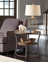 Nartina - T805-6 - Round End Table - Light Brown