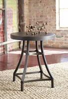 Starmore - T913-6 - Round End Table - Gray/Brown