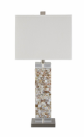 Tahira - L390024 - Shell Table Lamp (1/CN) - Cream