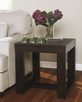 Watson - T481-2 - Square End Table - Dark Brown