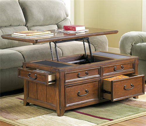 Ashley T478 20 Woodboro Lift Top Cocktail Table