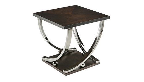 Captivating T628 2 Rollins Square End Table