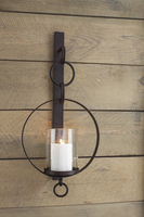 Ogaleesha - A8010036 - Wall Sconce - Brown