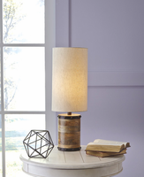 Ian - L327194 - Wood Table Lamp (1/CN) - Natural