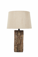 Selemah - L327004 - Wood Table Lamp (1/CN) - Light Brown