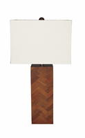 Tabeal - L327184 - Wood Table Lamp (1/CN) - Brown