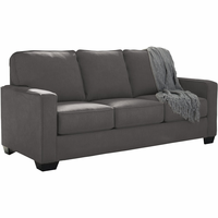 Ashley-Zeb-Charcoal-Full Sofa Bed
