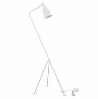 Askance Floor Lamp, White [FREE SHIPPING]