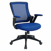 Aspire Fabric Office Chair, Blue [FREE SHIPPING]