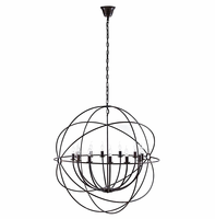 """Atom 39.5"""" Chandelier, Brown [FREE SHIPPING]"""