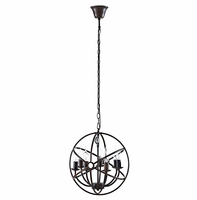 Atom Chandelier, Brown [FREE SHIPPING]