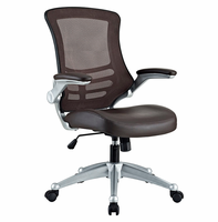 Attainment Office Chair, Brown [FREE SHIPPING]